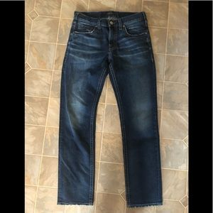 Mens Silver Konrad Jeans